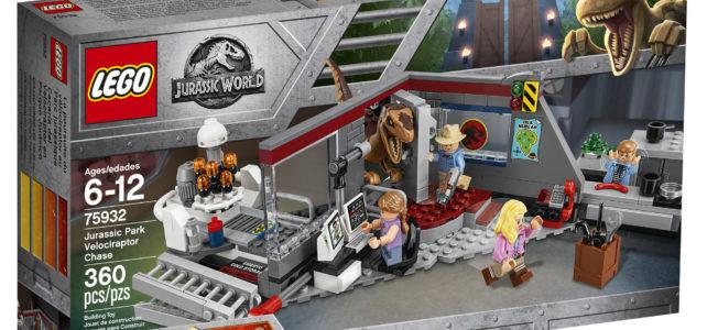 Enfin un set LEGO officiel Jurassic Park classique !