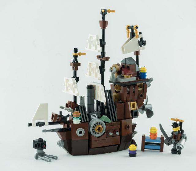 LEGO 70810 Le Lamantin de Barbe d'Acier microscale