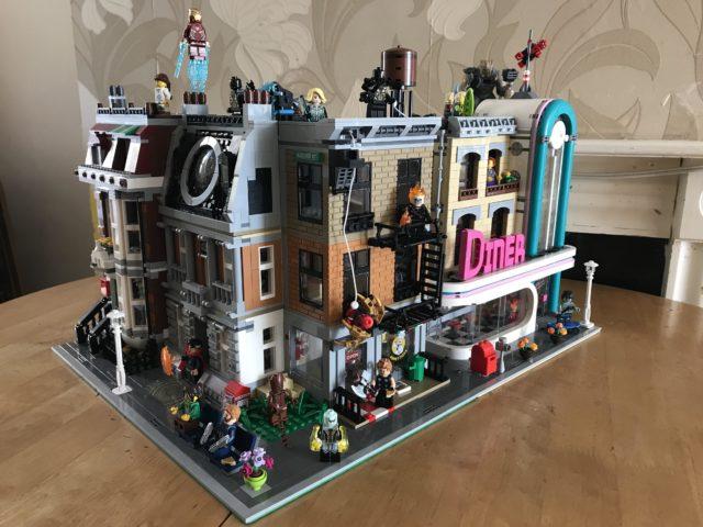LEGO 76108 Sanctum Sanctorum Showdown Modular