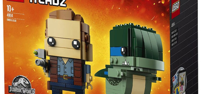 LEGO BrickHeadz 41614 Jurassic World Owen & Blue