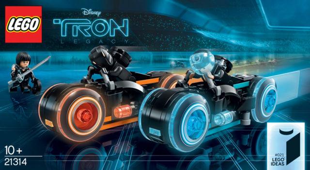 LEGO Ideas 21314 Tron annonce officielle