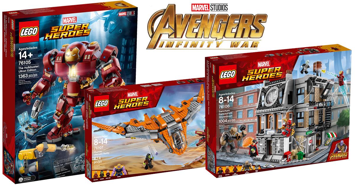 les nouveaut s lego marvel avengers infinity war et le hulkbuster ucs sont disponibles. Black Bedroom Furniture Sets. Home Design Ideas