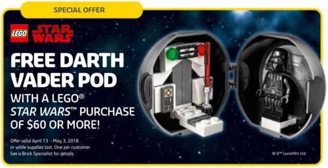 LEGO Pod Star Wars Dark Vador