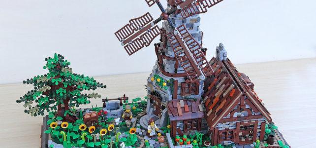 LEGO moulin à vent