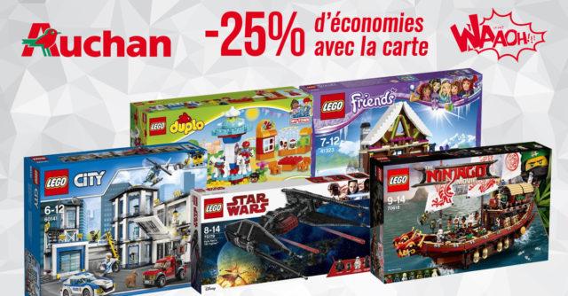Promo Auchan LEGO 2018