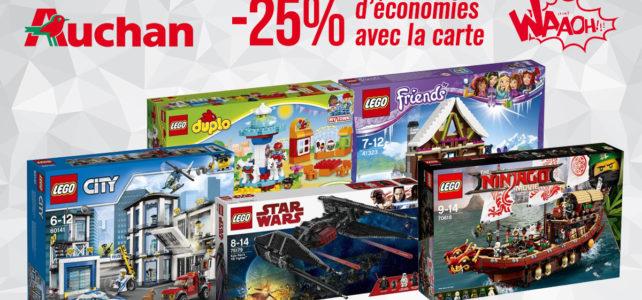 Promo LEGO Auchan 2018