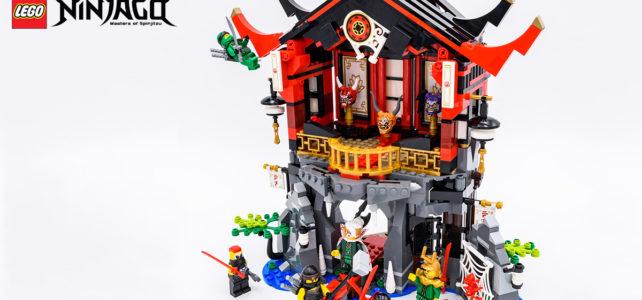REVIEW LEGO Ninjago 2018 : LEGO 70643, le temple de la Renaissance
