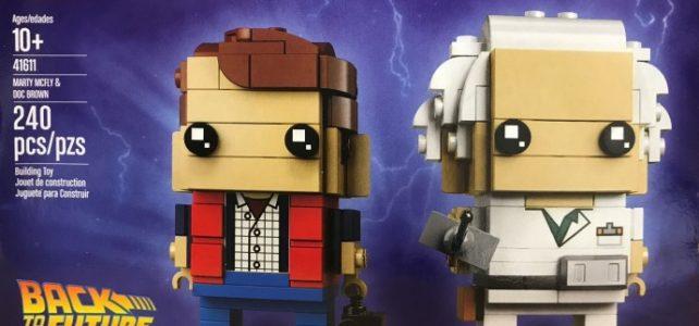 LEGO BrickHeadz Retour vers le Futur 41611