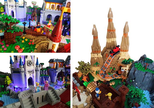LEGO Disneyworld Orlando Magic Kingdom