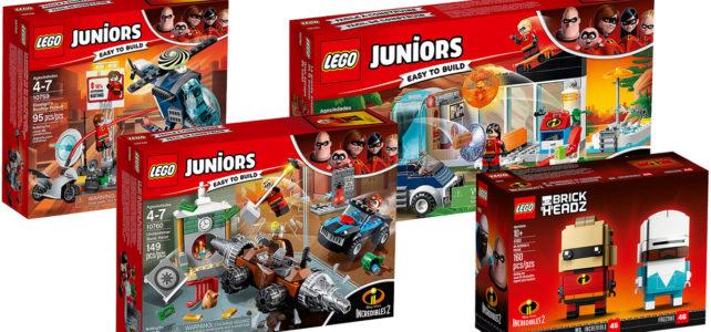 LEGO Incredibles nouveautés Les Indestructibles 2
