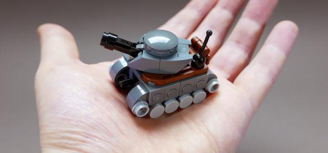 LEGO Mini tanks