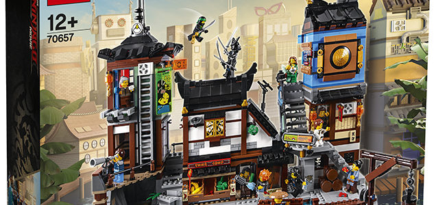 LEGO Ninjago Movie 70657 City Docks premier visuel officiel