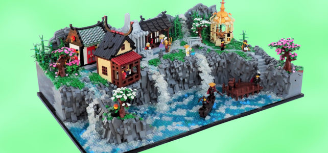 LEGO Shinmizu Village
