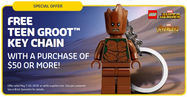 LEGO Teen Groot