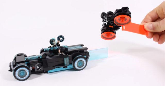 Light Car alternative LEGO Ideas 21314 TRON Legacy