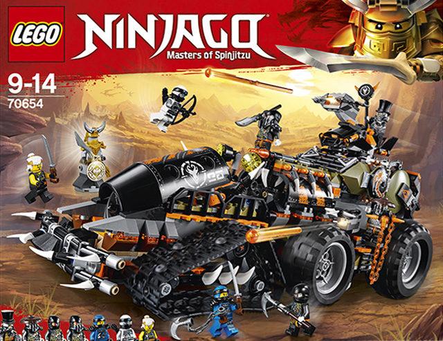 Ninjago 2018 LEGO 70654Dieselnaut Combat Vehicle