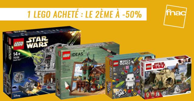 Promo LEGO Fnac