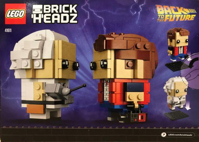 LEGO BrickHeadz Back to the Future 41611