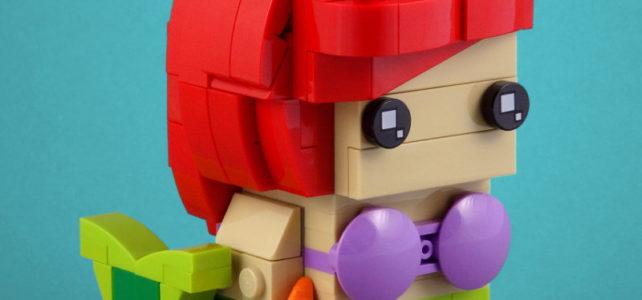Ariel la Petite Sirène version LEGO BrickHeadz