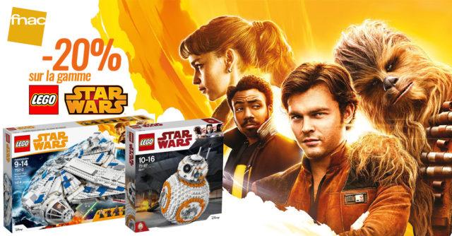 FNAC promo LEGO Star Wars Solo