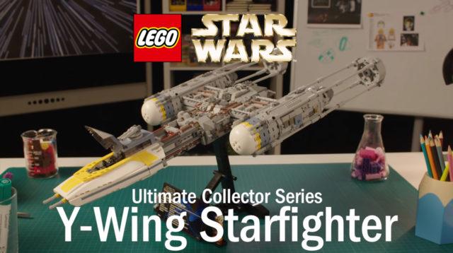 LEGO 75181 Star Wars UCS Y-Wing vidéo des designers