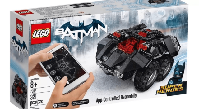 LEGO 76112 DC Comics Super Heroes App-Controlled Batmobile