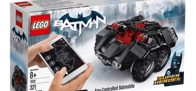 LEGO 76112 DC Comics Super Heroes App-Controlled Batmobile