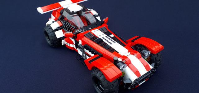 LEGO Caterham Rally mod