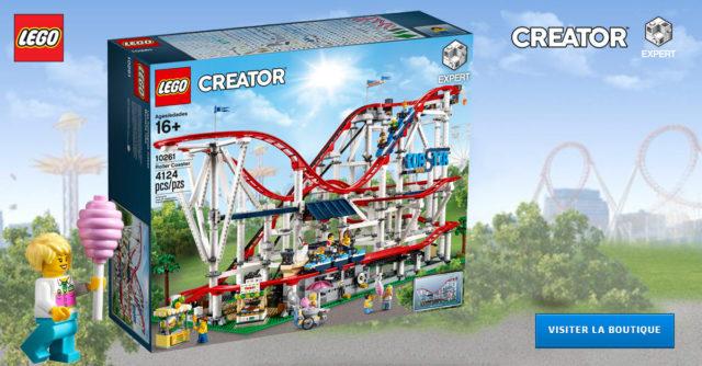 LEGO Creator Expert 10261 Roller Coaster VIP