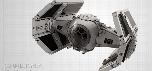 LEGO Darth Vader TIE x1 Advanced