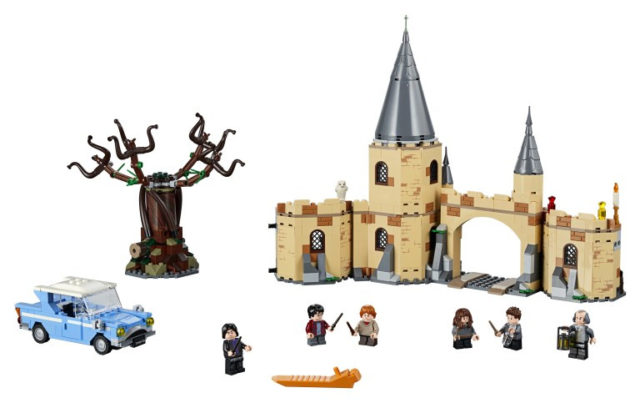 LEGO Harry Potter 75953 Hogwarts and the Whomping Willow 02