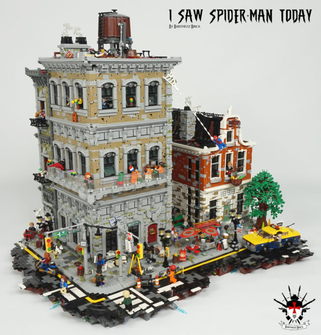 LEGO I saw Spider-Man today