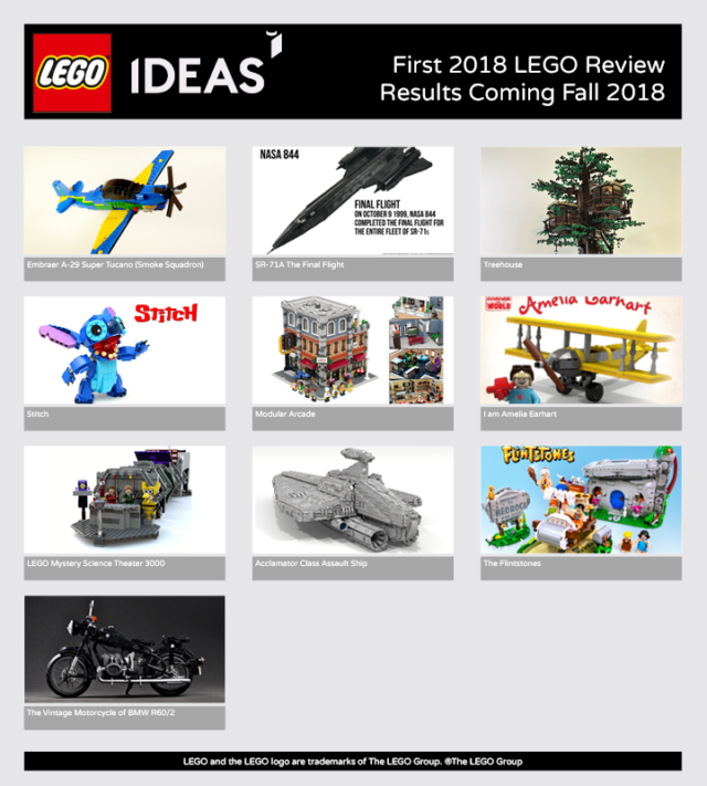 LEGO Ideas 2018