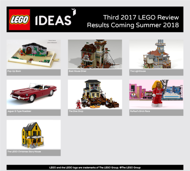 LEGO Ideas third 2017 review