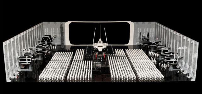 Star Wars VI Return of the Jedi : l'arrivée de l'Empereur