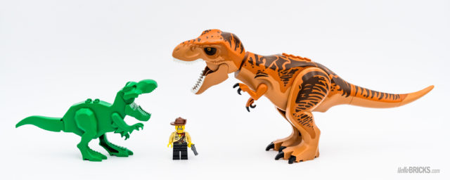 LEGO T-Rex VS T-Rex