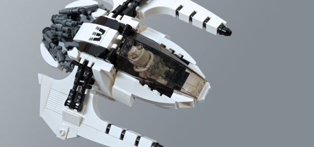 LEGO Whitetron spaceship