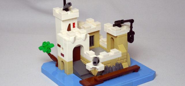 Micro forteresse LEGO 6276 Eldorado Fortress : toujours un classique !