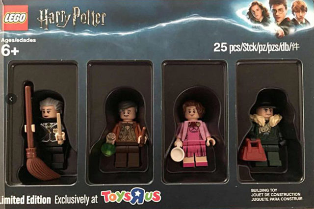 Pack Toys R Us Harry Potter Bricktober 2018