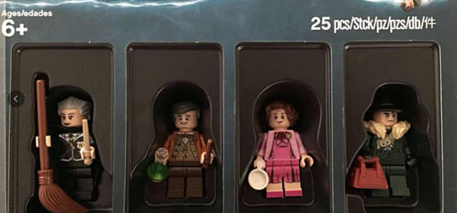 Pack ToysRUs Harry Potter Bricktober 2018