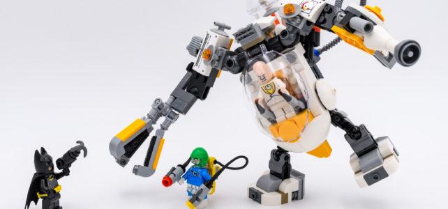 REVIEW LEGO 70920 Egghead Mech Nourriture Fight