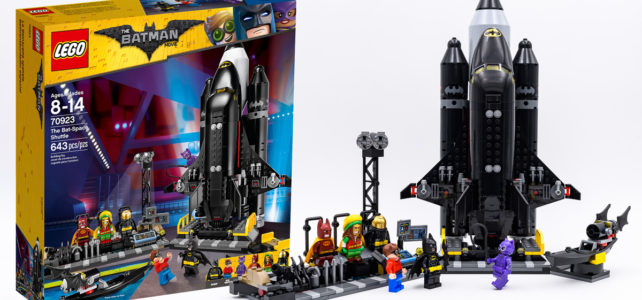 REVIEW LEGO 70923 The Bat-Space Shuttle LEGO Batman Movie