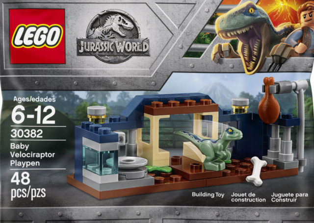 LEGO Jurassic World 30382 Velociraptor Playpen