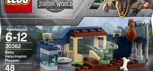 LEGO Jurassic World 30382 Velociraptor Playpen