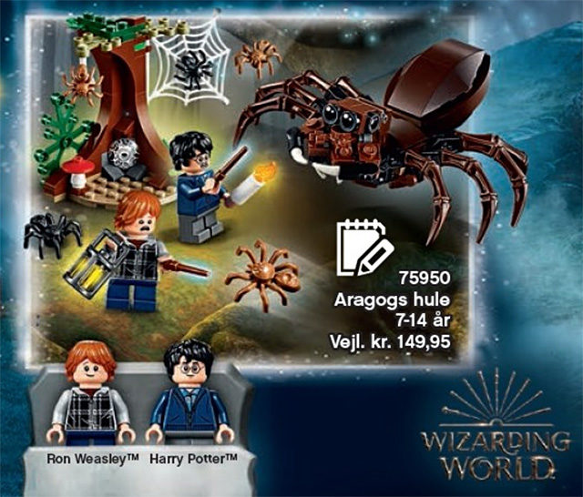 LEGO Harry Potter 75950 Aragog