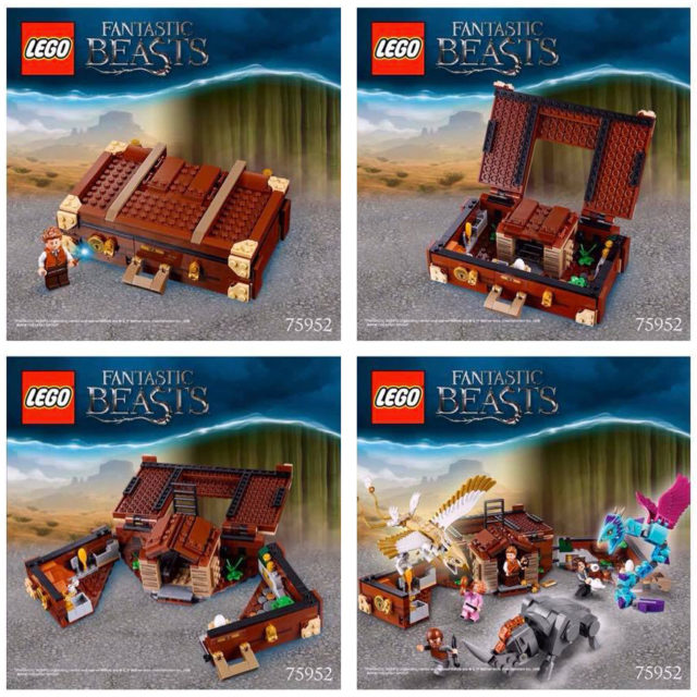 Fantastic Beasts LEGO 75952 Newt's Magical Suitcase
