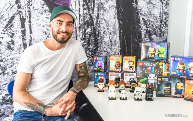 Interview LEGO Marcos Bessa BrickHeadz