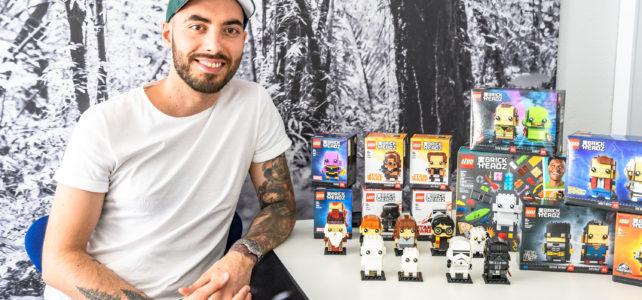Interview LEGO Marcos Bessa BrickHeadz