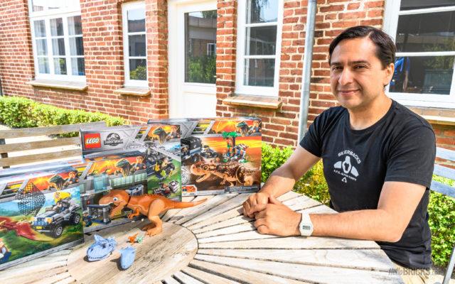 Interview Luis Castaneda toy doctor LEGO Jurassic World