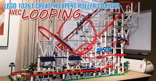 LEGO 10261 Creator Expert Roller Coaster looping